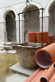 8th regular meeting of the Rector's Palace construction site