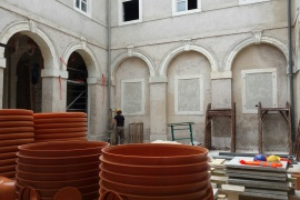 5th regular meeting of the Rector's Palace construction site