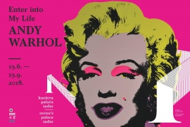 "PRESS KONFERENCIJA  ""Enter into My Life-Andy Warhol"""